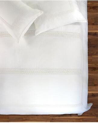 Melange Home Catrine Linen Duvet Set