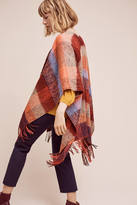 Anthropologie Woodsmoke Plaid Scarf