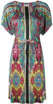 Etro printed midi dress - women - Silk - 46