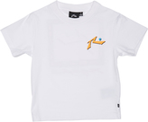 Rusty Tots Boys Water Proof Tee White