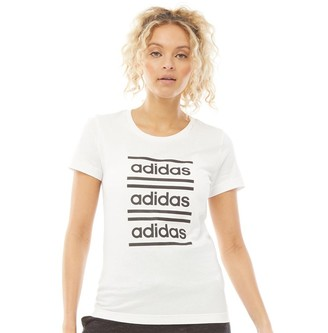 adidas Womens Celebrate The 90S T-Shirt White/Black