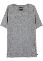 Tiger Of Sweden Ozz Grey Fine-knit Jersey T-shirt