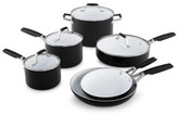 Calphalon Select by 10 Piece Ceramic Non-stick Cookware Set