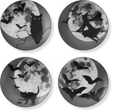 Williams-Sonoma Williams Sonoma Halloween Moon Plates, Set of 4