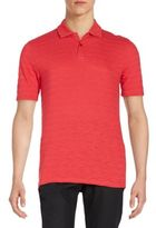 Saks Fifth Avenue Slub Jersey Polo Shirt