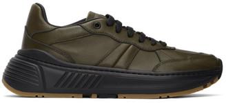 Bottega Veneta Green Speedster Sneakers