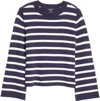 Halogen x Atlantic-Pacific Oversize Stripe Sweater