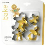 Dexam Gingerbread family cookie cutter set of 4
