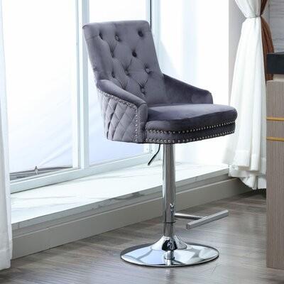 Rosdorf Park Candace Swivel Bar Counter Stool Seat Height Bar Stool 28 Seat Height Shopstyle