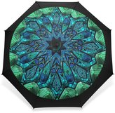 BAIHUISHOP Windproof Golf Umbrella, Compact for Travel By Easy Carrying Sports Rain Umbrella - Strong Frame Unbreakable Hyperbolic Pattern Pattern
