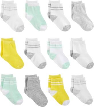 Simple Joys by Carter's Boys' 12-Pack Socks