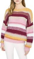 Sanctuary Blur the Lines Stripe Crewneck Sweater