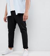 Asos Design DESIGN Plus skinny chinos in black