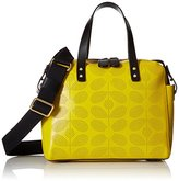 Orla Kiely Sixties Stem Punched Leather Caraway