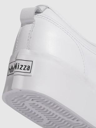 adidas Nizza Platform Leather - White