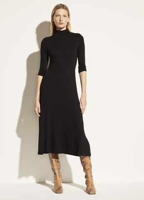 Vince Mock Neck Dress