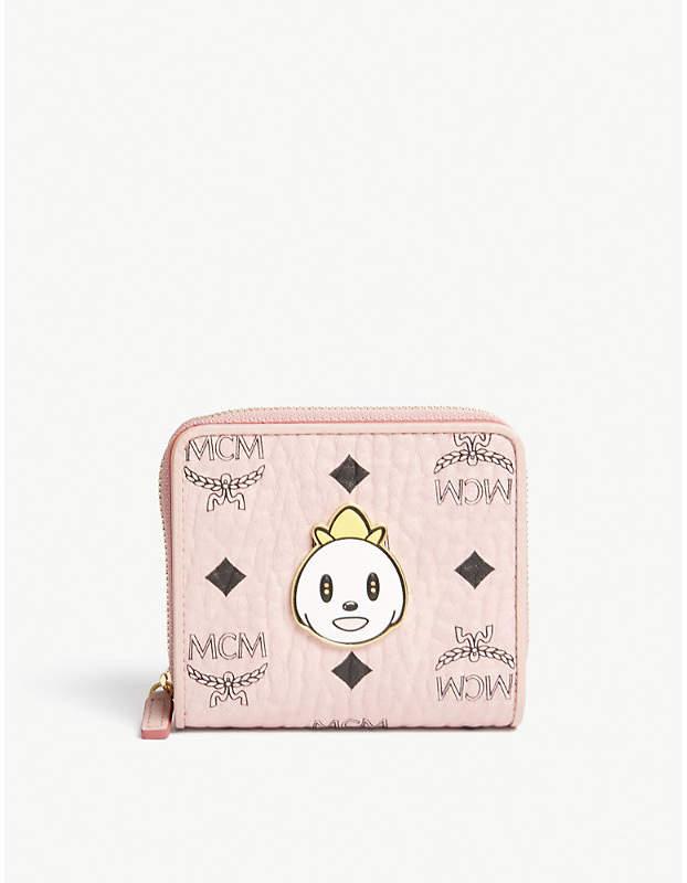 MCM Eddie Kang Loveless mini zip-around purse