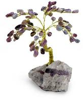 Tourmaline gemstone tree, 'Happiness'