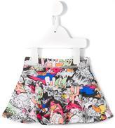 Kenzo Dancing Cactus print skirt