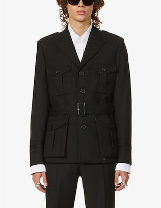 Saint Laurent Military wool jacket