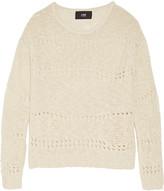 Line Nolan open-knit cotton and linen-blend sweater