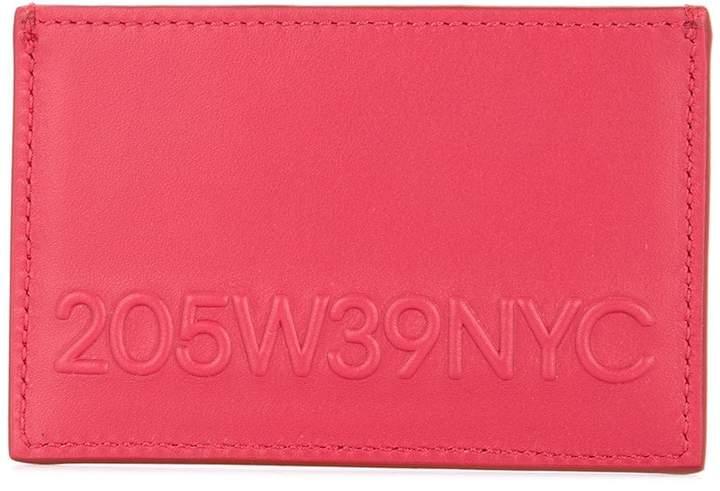 Calvin Klein embossed logo cardholder
