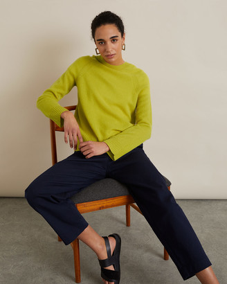 Jigsaw Cashmere Slouchy Crew Jumper