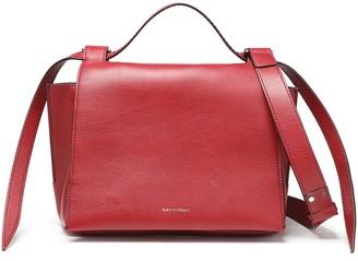 Elena Ghisellini Foxy Pebbled-leather Shoulder Bag