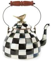 Mackenzie Childs MacKenzie-Childs Courtly Check Enamel 3 Qt. Tea Kettle