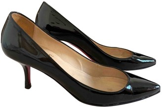 Christian Louboutin Pigalle Black Patent leather Heels