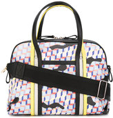 Pierre Hardy Rally Camouflage Cube tote - women - Calf Leather/Canvas - One Size