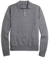 Brooks Brothers Saxxon Wool Polo