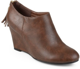 Journee Collection Colins Women's Wedge Ankle Boots
