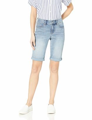 NYDJ Women's Briella ROLL Cuff Short in Cool Embrace Denim