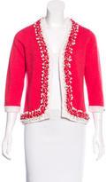 Chanel Cashmere Embellished Caridgan
