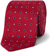 Eton Textured Spot Tie