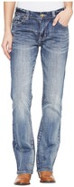 Rock and Roll Cowgirl Boyfriend Fit in Medium Wash W2-1397 Women's Jeans
