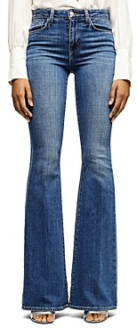 L'Agence High-Rise Flare-Leg Jeans