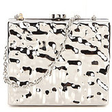 Kate Landry Metal Frame Clutch
