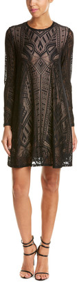 BCBGMAXAZRIA Natyly Lace Shift Dress