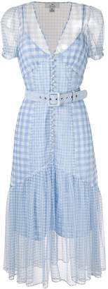 We Are Kindred Valencia checked dress