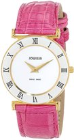 Jowissa Women's J2.101.M Roma Colori Gold PVD Dial Roman Numeral Pink Watch