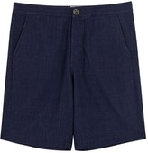 Oliver Spencer Indigo Cotton Shorts