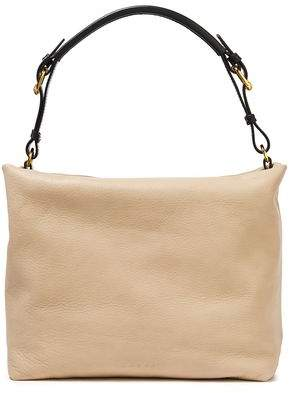 Marni Maxi Strap Pebbled-leather Shoulder Bag