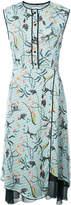 Yigal Azrouel floral print shirt dress
