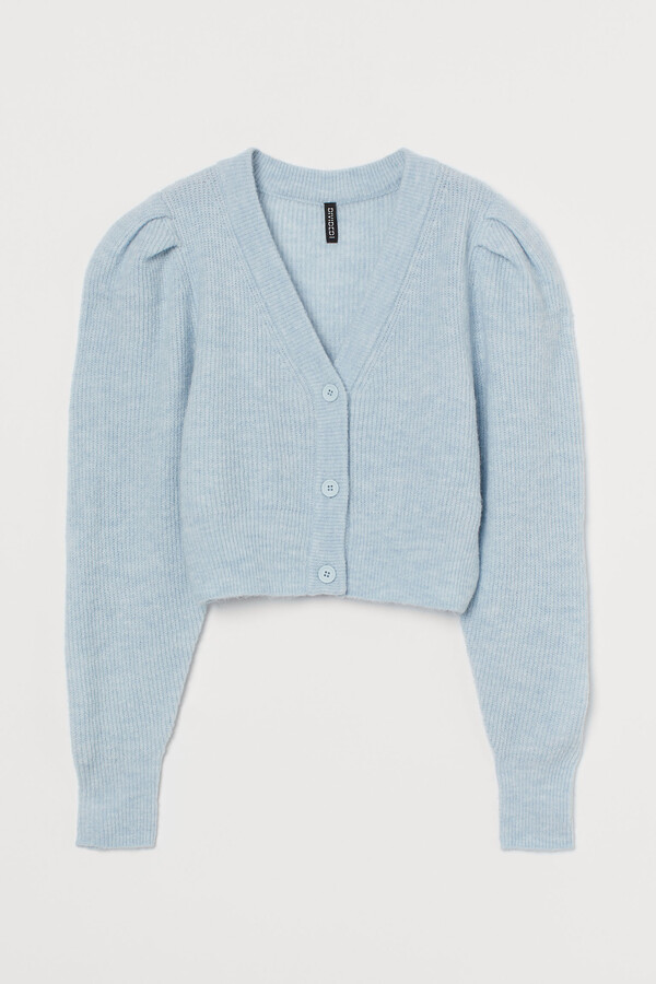 H&M Puff-sleeved cardigan