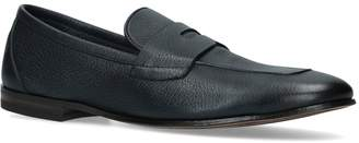 Harrods Henderson Baracco Leather Penny Loafers