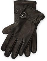 Ralph Lauren Bridle Belted Leather Gloves