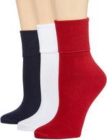 MIXIT Mixit 3pk Mary Jane Socks