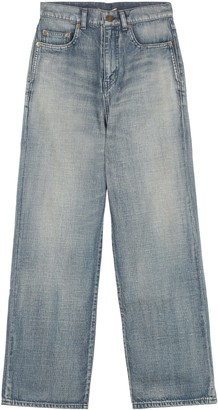Saint Laurent 5-pocket Straight-leg Jeans